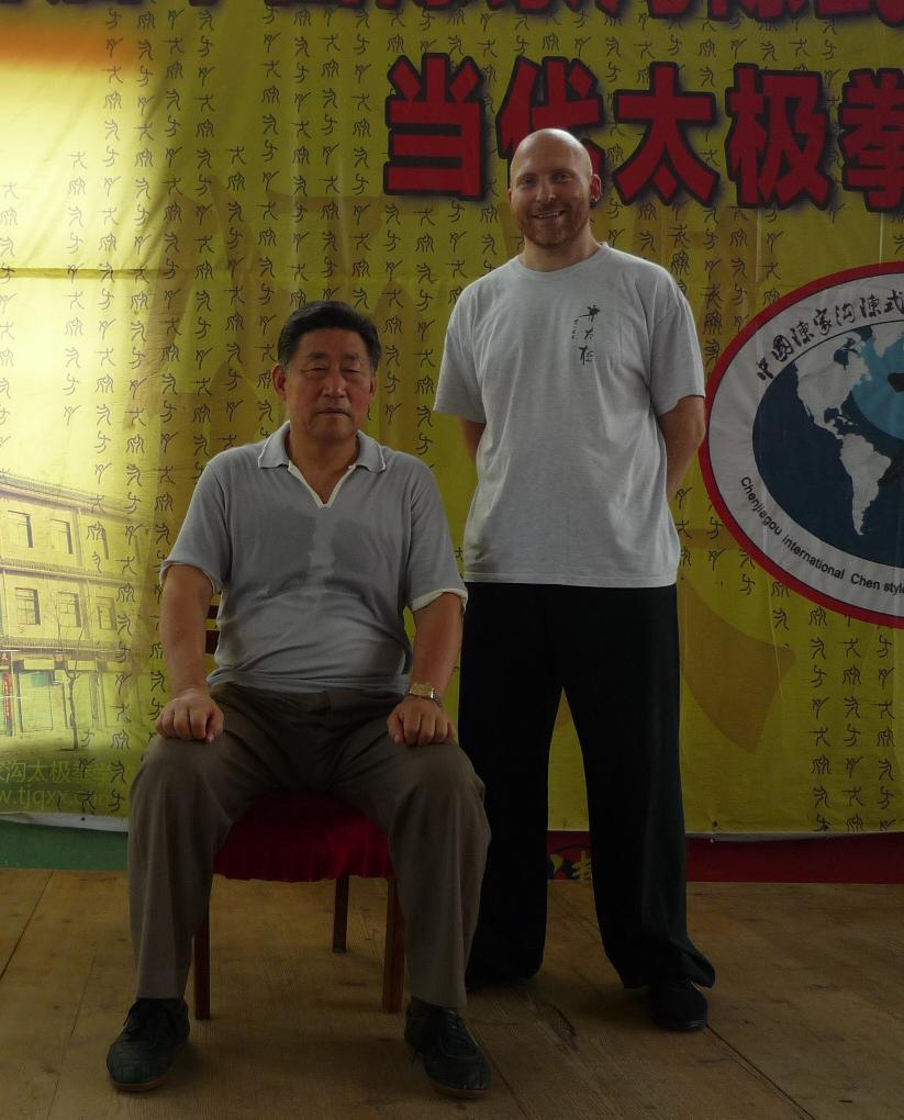 Heilpraktiker Seibold, Bremen mit Chen Xiaowang