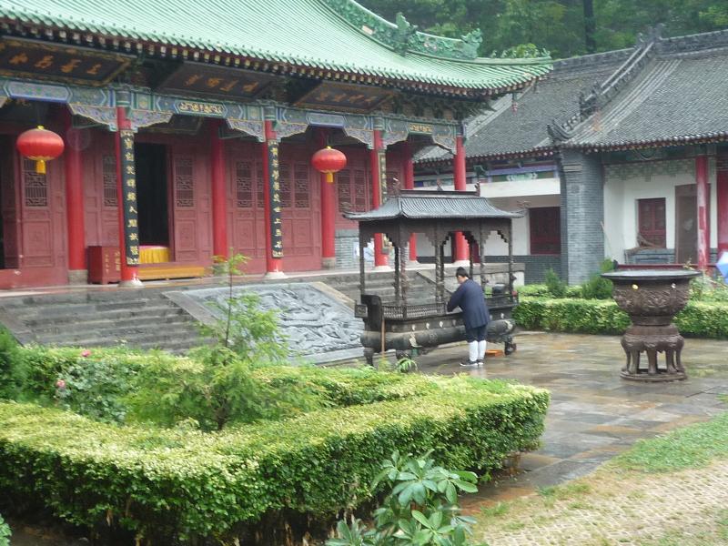 daoistischer Tempel Louguantai, China